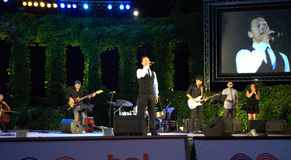 Orlin Pavlov live concert Stock Photos