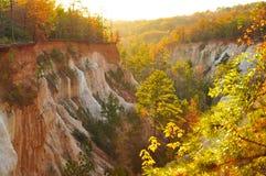 Orlo del canyon di provvidenza Fotografia Stock