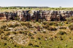 Orlo del cratere Immagine Stock Libera da Diritti