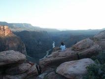 Orlo del nord del Grand Canyon Fotografie Stock Libere da Diritti