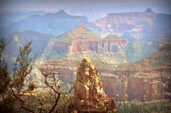 Orlo del nord del grande canyon Immagini Stock Libere da Diritti
