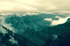 Orlo del nord del grande canyon Immagine Stock Libera da Diritti