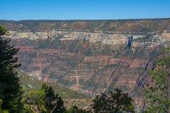Orlo del nord del parco nazionale di Grand Canyon fotografie stock libere da diritti