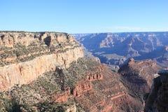Orlo del sud del grande canyon Immagini Stock Libere da Diritti