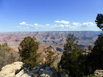 Orlo del sud del grande canyon Fotografia Stock Libera da Diritti
