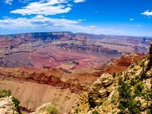 Orlo del sud del grande canyon Immagine Stock
