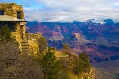 Orlo del sud di grande canyon Fotografia Stock
