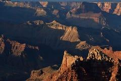 Orlo del sud, grande canyon fotografia stock