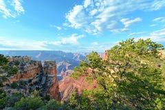 Orlo orientale del Grand Canyon Immagine Stock Libera da Diritti