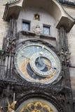 Orloj, ιστορικό μεσαιωνικό αστρονομικό ρολόι, παλαιό Δημαρχείο, Πράγα, Δημοκρατία της Τσεχίας Στοκ φωτογραφίες με δικαίωμα ελεύθερης χρήσης