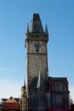 Orloj. Famous Prague Orloj late autumn at sunny day Stock Photography