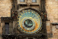 Orloj. Astronomical Clock in Prague's Old Town Square Stock Photography