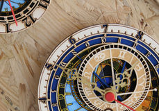 Orloj. Little souvenirs of the Prague Astronomical Clock or Prague Orloj (Czech Republic Stock Photo