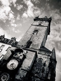 Orloj astronomical clock in Prague Royalty Free Stock Image