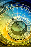 Orloj astronomical clock in Prague in Czech Republic royalty free stock image