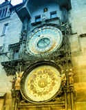 Orloj astronomical clock in Prague in Czech Republic Stock Photos