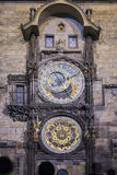 Orloj clock of old town hall in Prague, Czech republic Royalty Free Stock Images