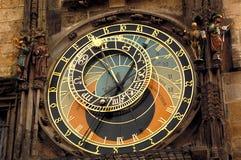 Orloj klocka i Prague Royaltyfria Foton