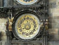 Orloj , shield calendar , details Royalty Free Stock Photography
