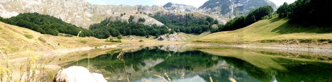 Orlovacko lake Stock Photo