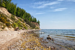 Orlowo Cliff in Gdynia Stock Photos