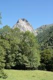 Orlu peak in Pyrenees Stock Images