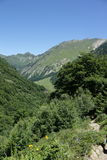 Orlu valley in Pyrenees, France Stock Images