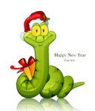 Orm för nytt år Arkivbild