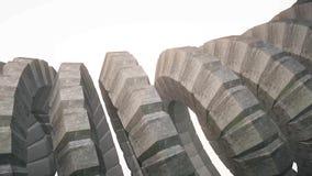 Ormen avmaskar ryggen som 3d framförde bild för materiel 4k för abstrakt bakgrund för kugghjulmekanism ny färgrik kall trevl stock illustrationer