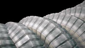 Ormen avmaskar ryggen som kvalitet för sömlös för ögla för roterande mekanism för kugghjul för betong 3d ny för abstrakt begrepp  vektor illustrationer