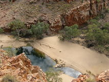 The Ormiston gorge in the Mcdonnell ranges Stock Photo