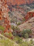 The Ormiston gorge in the Mcdonnell ranges Stock Image