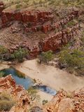 The Ormiston gorge in the Mcdonnell ranges Stock Photos