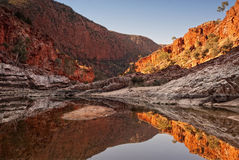 Ormiston Gorge waterhole in the West MacDonnell National Park, A Stock Photography