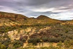 Ormiston-Schlucht, West-MacDonnell-Strecken-Nationalpark, Nordterritorium, Australien stockfotos