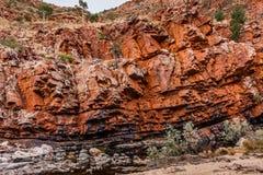 Ormiston-Schlucht, West-MacDonnell-Strecken-Nationalpark, Nordterritorium, Australien stockbilder
