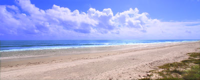 Ormond Beach - Florida. The amazing Ormond Beach along the east coast of Florida Royalty Free Stock Photos