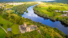 Ormond Castle in Carrick-on-Suir, Co. Tipperary, Ireland Royalty Free Stock Photo