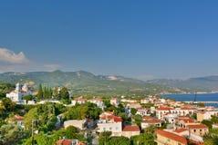 Ormos Marathokampou. Samos island. Greece Stock Images