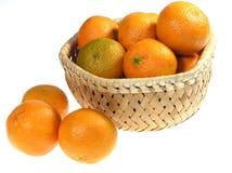 Ornages do mandarino Imagem de Stock Royalty Free