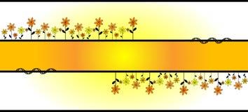 ornam иллюстрации цветка Стоковые Изображения RF