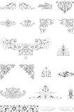 Ornamentów elementy Zdjęcie Stock