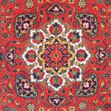 Ornament Środkowy Azjatycki dywan fotografia royalty free