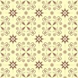 Ornament 007 - B -pattern. Original pattern inspired by classical ornaments Stock Photo