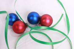 Ornament 1 van Kerstmis Royalty-vrije Stock Foto's