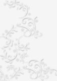 Ornament. The white Ornament on white background vector illustration