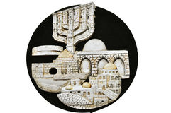 Ornament. View of the historical Israel Royalty Free Stock Photography