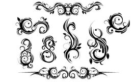 Ornament. Swirl for design decoration royalty free illustration