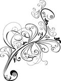 Ornament. Black and white design ornament royalty free illustration