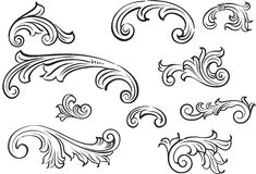 ornament ilustracji